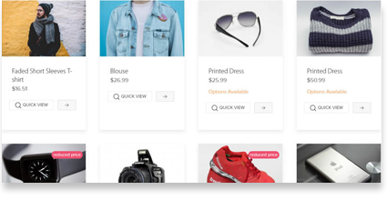 Screenshot Prestashop